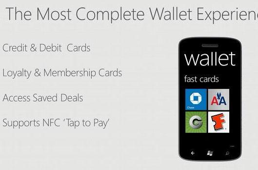 Microsoft brings NFC payments and loyalty cards to Windows Phone 8