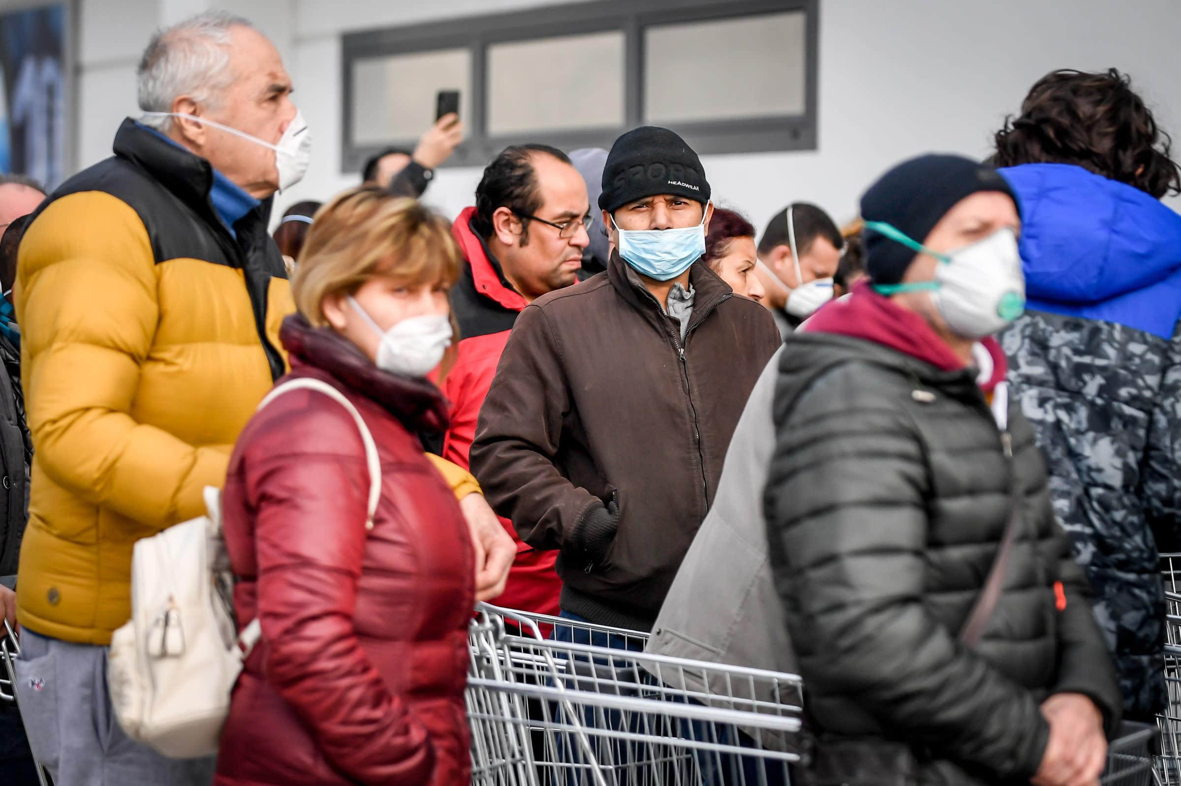 Coronavirus: Italia terzo Paese con più contagi