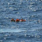 Desperate migrants on rescue vessel jump overboard in bid to reach Italian island of Lampedusa