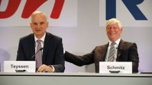 E.ON, RWE have no merger plans - CEOs in German paper