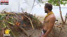 Koh-Lanta All Stars : La cabane des Jaunes prend feu, du jamais vu dans l'émission ! (vidéo)