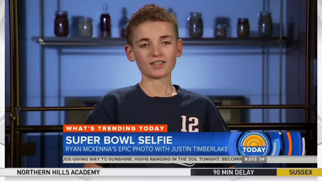 Super Bowl selfie kid reveals aftermath of picture [Video]