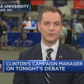 Clinton's campaign manager on tonight's debate