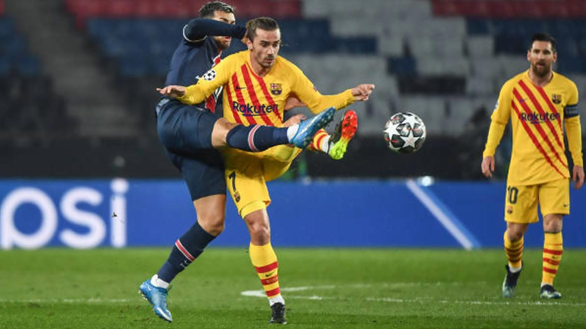 Psg 1 1 Barcelona Goal Video Highlights Lionel Messi Led Barca Knocked Out Of Uefa Champions League
