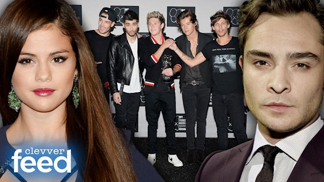 Selena Gomez No Bieber Questions, Ed Westwick Interview & Billboard's 21 Under 21 - Clevver Feed