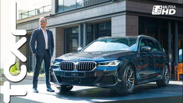 [新車搶先看] 顏值擔當 科技升級 BMW 5 Series Sedan/Touring