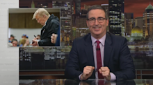 John Oliver claims Trump doesn't know enough about the Bible to sign it