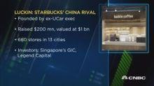 China's homegrown Luckin Coffee takes on Starbucks