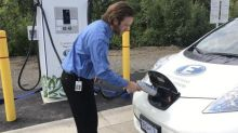 Charging stations not busy as Yukon government eyes thousands of new electric vehicles
