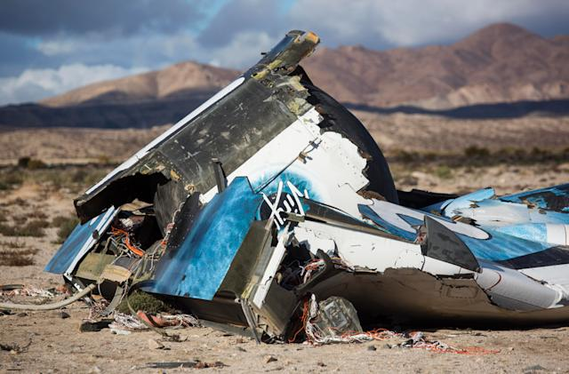 Virgin Galactic's SpaceShipTwo crash was due to co-pilot error (updated)