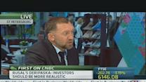 Rusal CEO: Investors Should 'Calm Down'