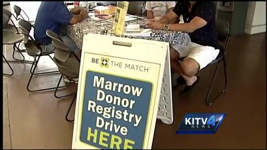 Bone marrow drive held for well-known judo coach