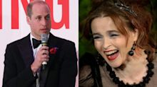 Helena Bonham Carter's proposition to Prince William