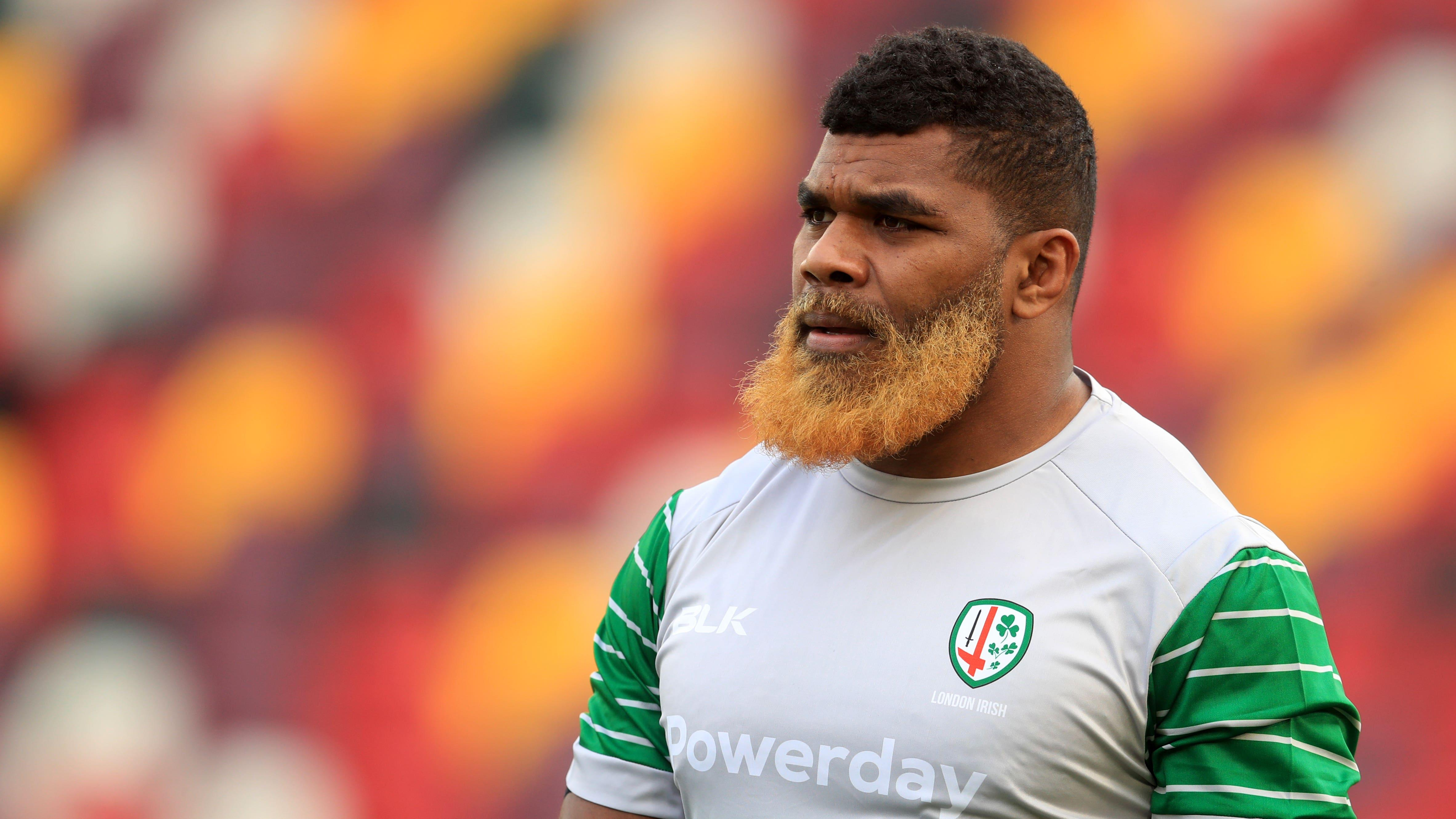 London Irish report 'racially abusive' message sent to Albert Tuisue to police