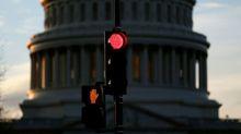 U.S. Senate leaders meet in bid to end government shutdown