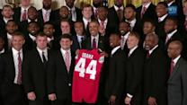 President Obama Becomes Latest Member of Buckeye Nation