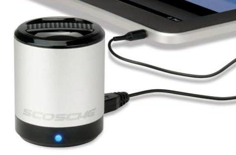 Scosche BoomCan ups your mobile device's sound for $25, annoys anyone near you