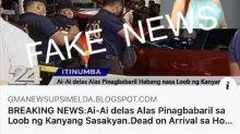 Ai-Ai delas Alas laughs off death hoax