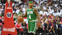 Isaiah Thomas has perfect response to Tyler Herro's comments about falling in draft