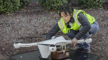 Usan drones para transportar muestras de sangre en Raleigh