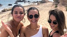 A Bikini-Clad Selena Gomez Shares Sweet Photos from Her Best Friend's Bachelorette Beach Getaway
