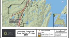 Anaconda Mining Expands its Great Northern Project With the Acquisition of the Rattling Brook Deposit