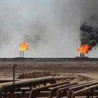 Oil up on U.S.-Iran tensions but demand concerns cap gains