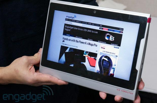 Ice Computer demos modular xPC with working 9.7-inch xPad tablet, we go hands-on at CES (video)