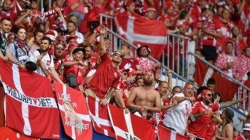 Denmark fined over sexist banner, fan behavior
