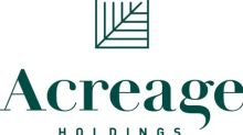 Acreage Holdings Announces Changes in Executive Leadership Team