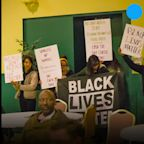 Black Lives Matter South Bend protesters interrupted an event supporting Pete Buttigieg