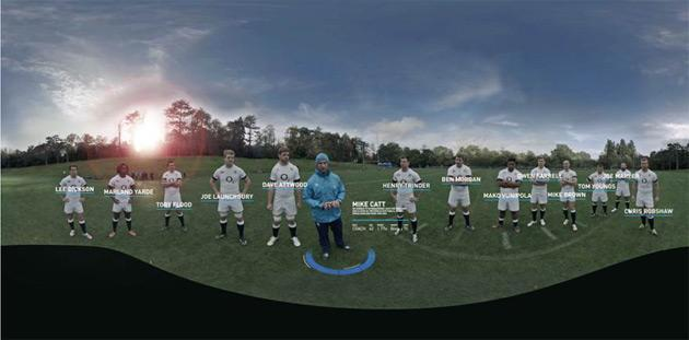 Experience life as a rugby player with an Oculus Rift, nine GoPros and zero bruises