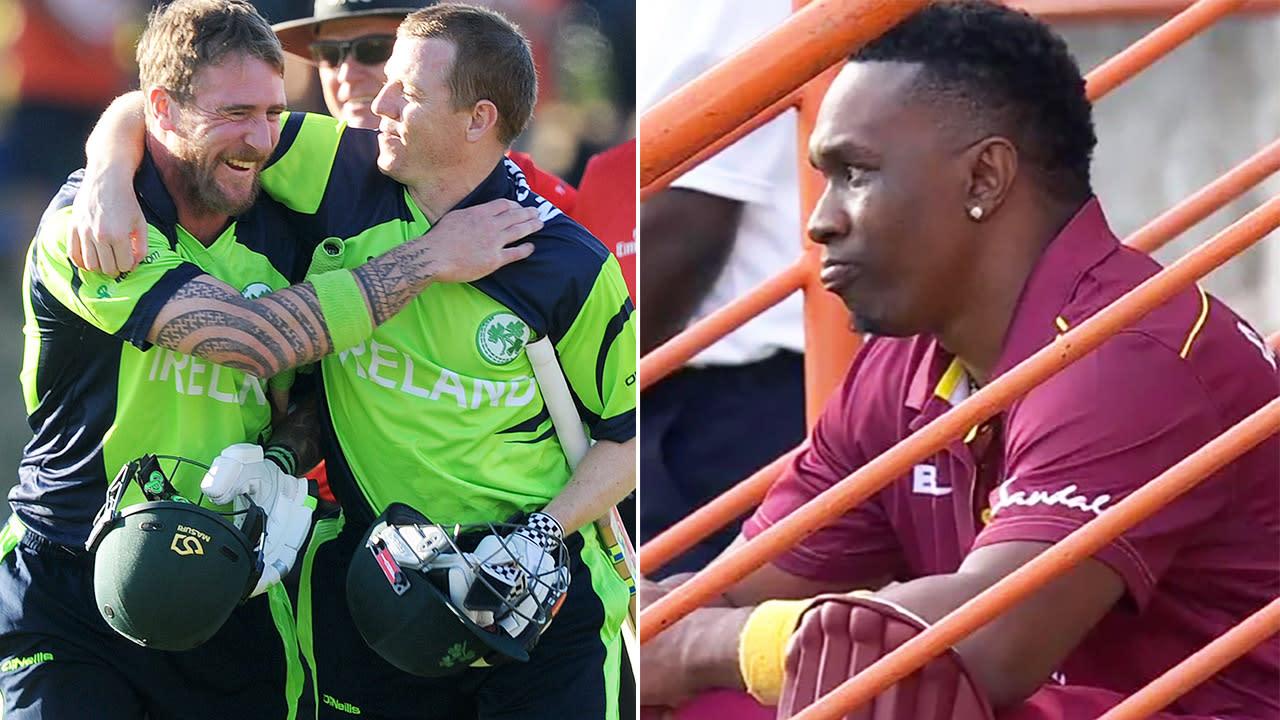 'My god': Cricket minnows stun West Indies with insane world record