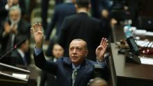 The Latest: Sweden, Denmark react to Erdogan speech