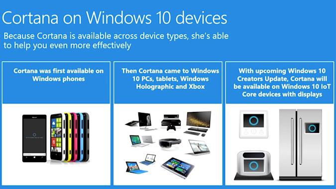 Microsoft will put Cortana in your smart home