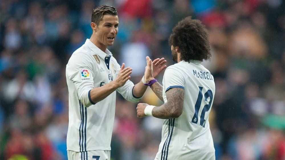 """""""A mí no, a él"""": el particular gesto de Ronaldo con Marcelo"""