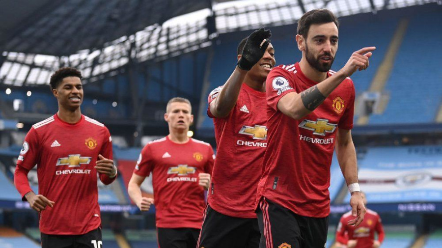 United strikes early, snaps City's 21-match streak