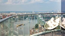 Want to live in a deluxe penthouse overlooking the River Thames? This one's for sale…