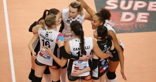 Volley - Ligue A (F) - Le Cannet rejoint Mulhouse en finale du Championnat