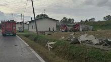 Maltempo in Friuli: due trombe d'aria in una sola mattinata