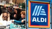 Chaos as Aldi cream sells out in three minute frenzy