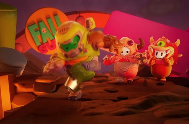 'Fall Guys' will add 'Doom' costumes on January 12th