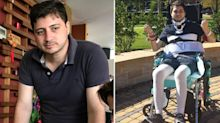 Man shatters his spine while swimming on family holiday