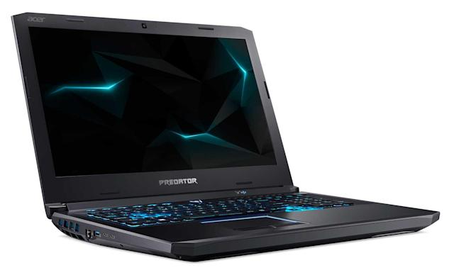 Acer's Predator Helios 500 gaming laptop is a Core i9 powerhouse