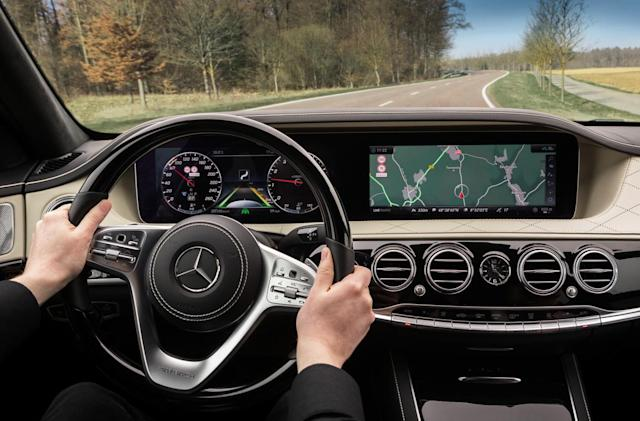 Mercedes-Benz is building cars that know the road better than you do
