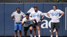 Rashawn Slater shows he's a fast learner at Chargers rookie minicamp