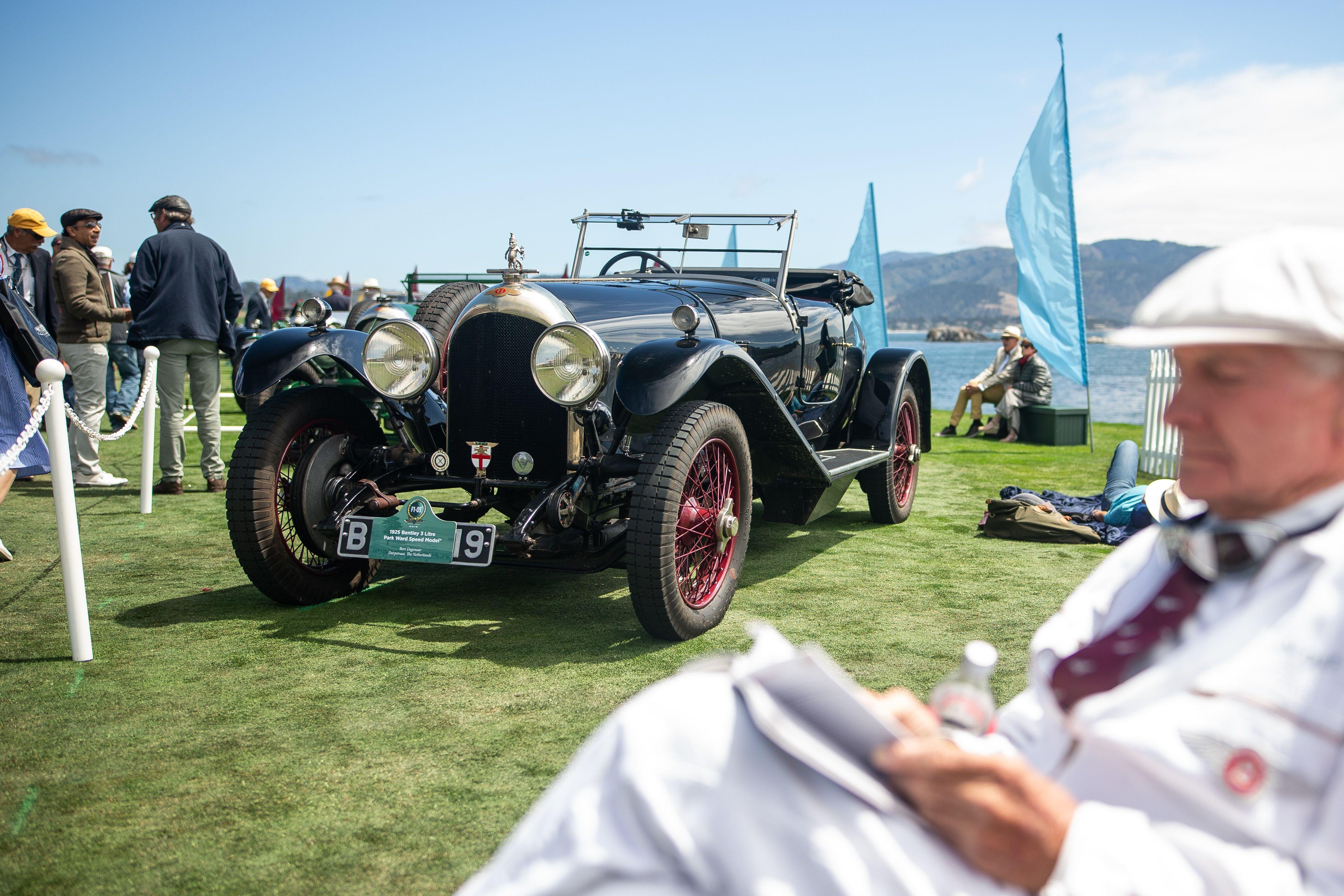 """<p>Many of the priceless automobiles parked on the 18th green at the Pebble Beach golf course for <a href=""""https://www.caranddriver.com/news/a28688485/pebble-beach-monterey-2019-car-week-live-updates/"""" rel=""""nofollow noopener"""" target=""""_blank"""" data-ylk=""""slk:the annual Concours d'Elegance"""" class=""""link rapid-noclick-resp"""">the annual Concours d'Elegance</a> can seem irrelevant to the casual observer. After all, does anyone really care about a 1930 Willys-Knight 66B Griswold roadster? Maybe not. And what even is a 1930 Willys-Knight 66B Griswold roadster? Anyway, automotive beauty comes in many forms, confusing names or perceived irrelevance aside. We're not experts on obscure, hyper-expensive vintage cars from decades gone by, but we found something to appreciate in these cars that caught our editors' eyes at the 2019 Pebble Beach Concours d'Elegance. Click through for our favorites from the bougiest car event on the annual show circuit.</p>"""
