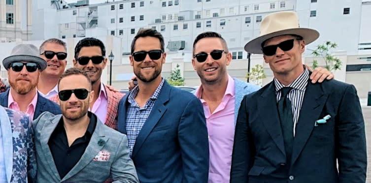 Tom Brady's Kentucky Derby boys' day out keeps growing