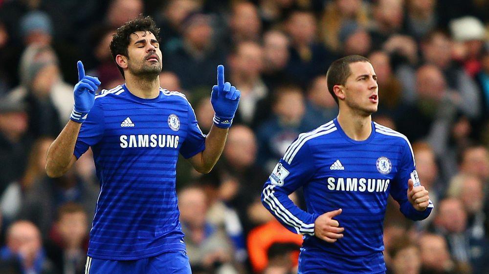 Hazard quer Diego Costa de volta ao Chelsea