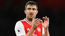 Napoli confirm they're trying to sign Arsenal defender Sokratis